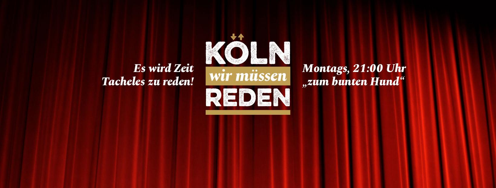Es geht wieder los: Köln, wir müssen reden!